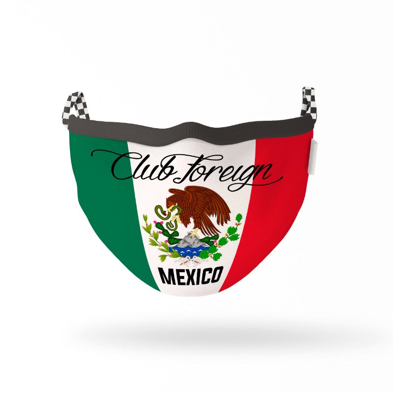 "ClubForeign Premium Reusable Fabric Face Masks ""Mexico"""