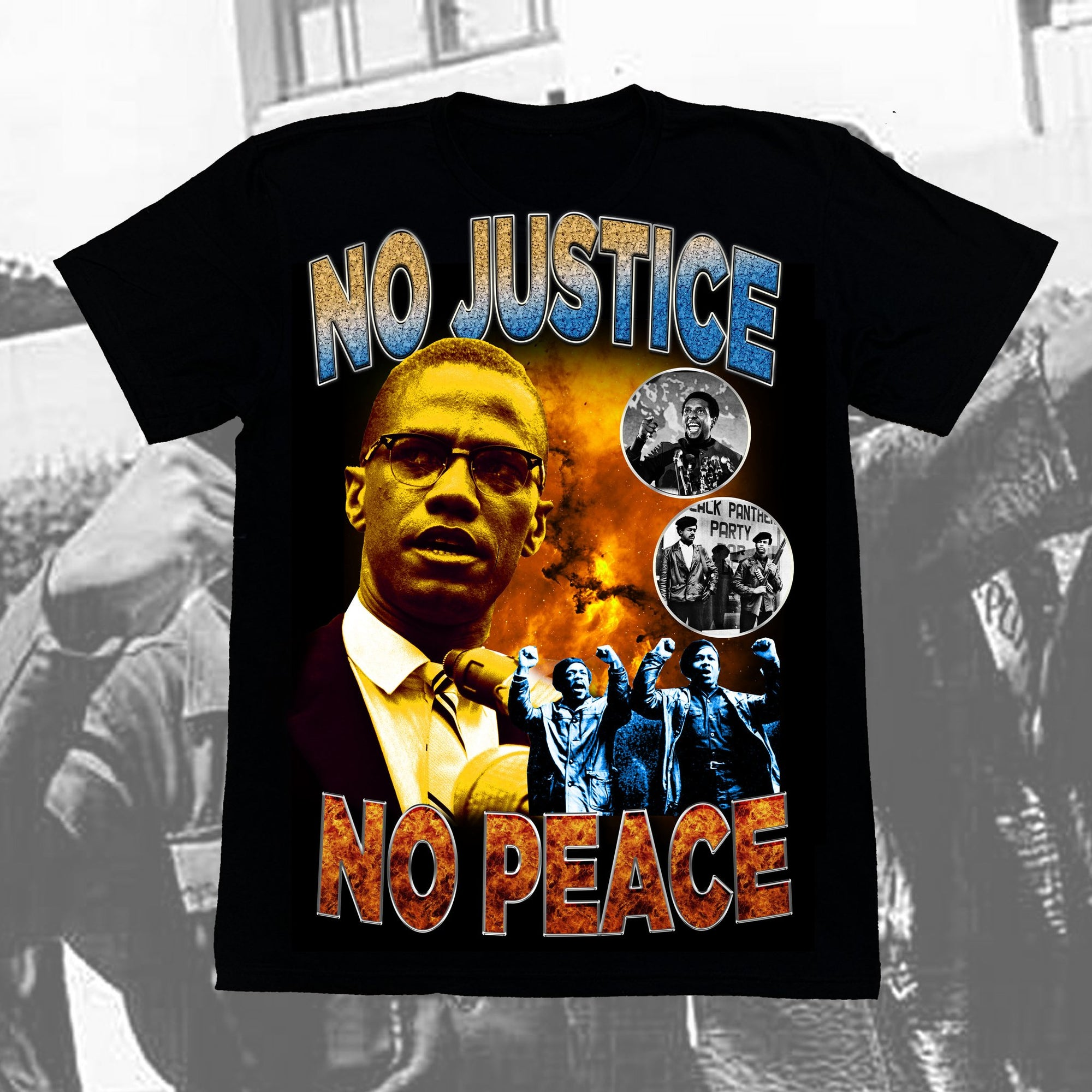 "Originals ""NO PEACE"" Vintage T-Shirt"