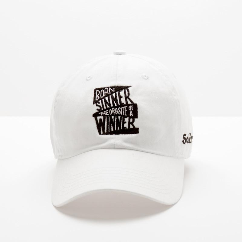 "Posh Design Hat ""Born Sinner"" - Pick Your Color - Trends Society"