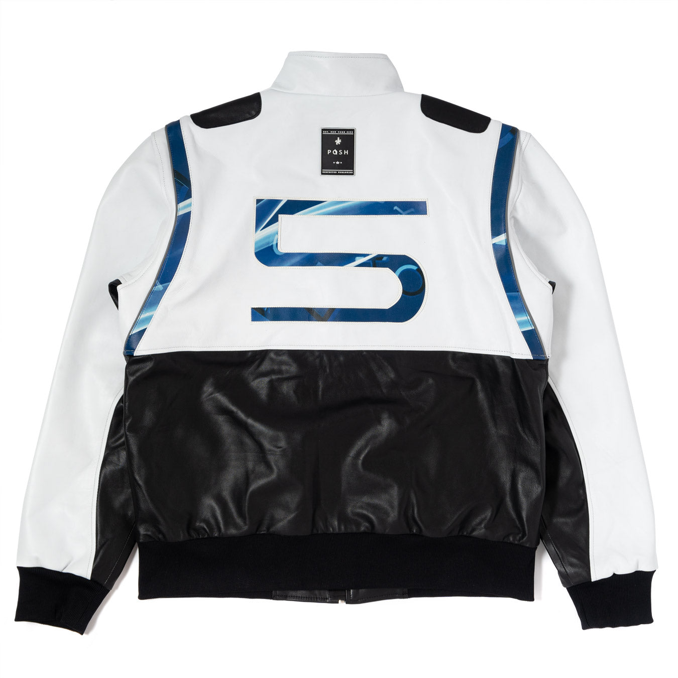 Posh PlayStation 5 Two Tone Premium Lamb Leather Jacket