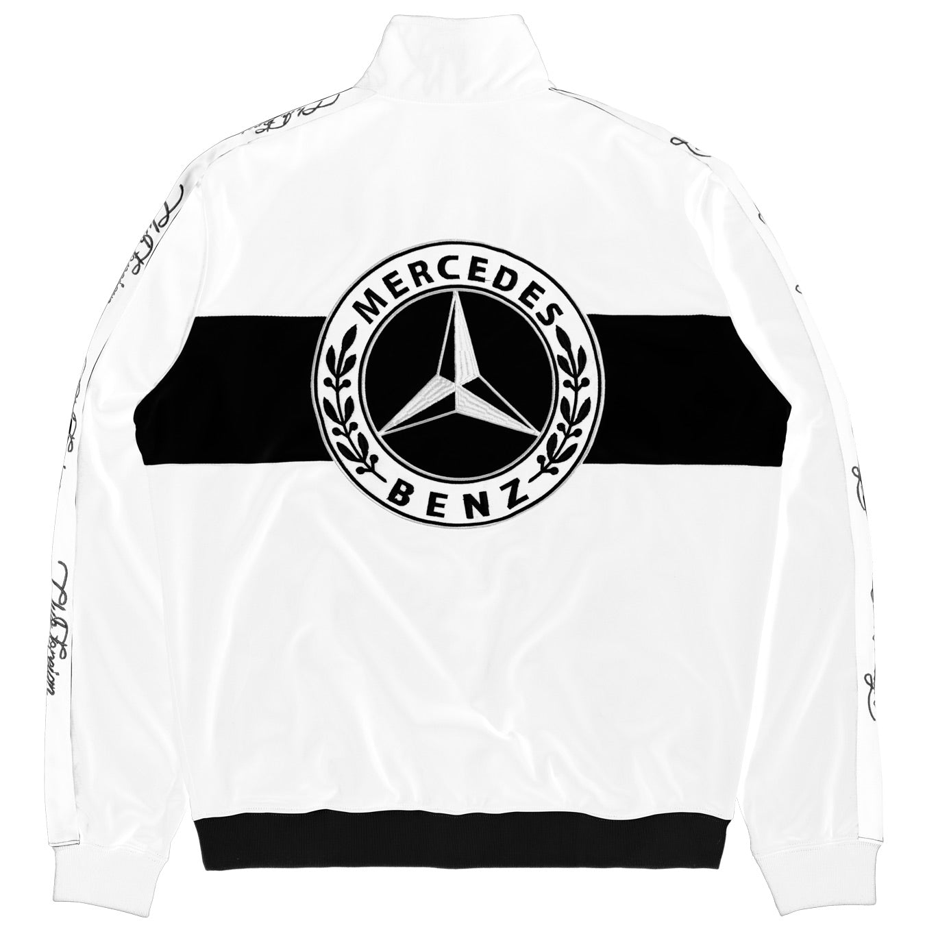 "ClubForeign Tracksuit For Men Jacket and Pants ""Merc"" White"