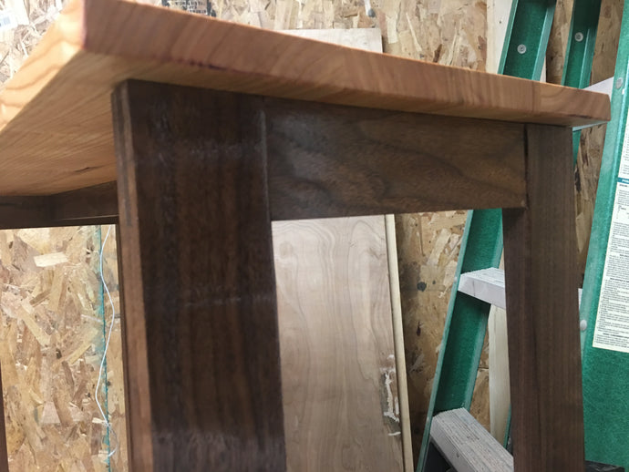 Walnut and Kentucky Coffeetree Entry Table