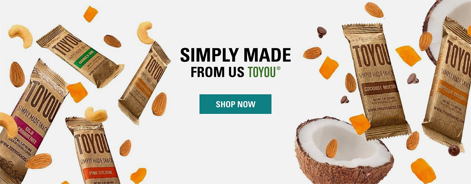 ToYou Snacks | Nutrition bars | simply made healthy fruit and nut snack bars