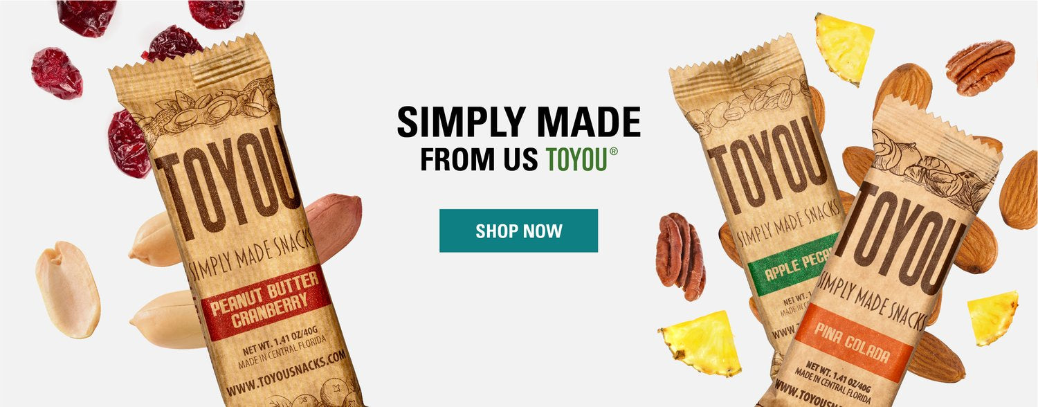 ToYou Snacks | Nutrition bars | healthy snack bars
