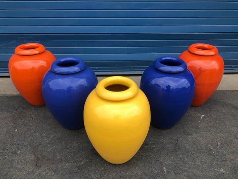 Group of 5 Bauer 16'' oil jars