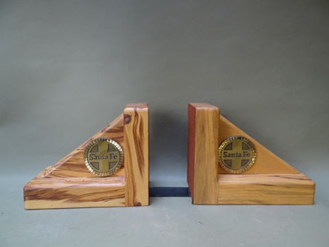 Santa Fe Wooden Bookends