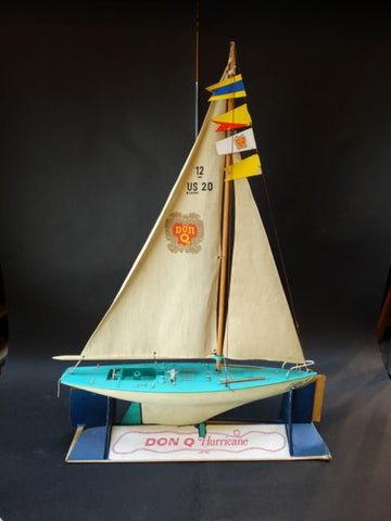 Don Q Rum Promotional Toy Sailboat