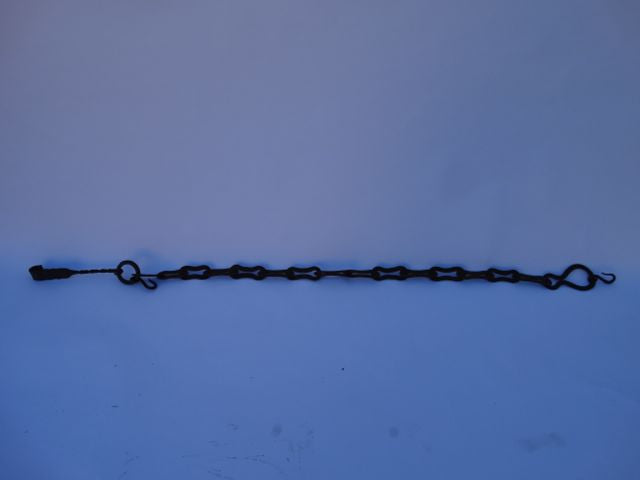Early 19th Century Wrought Iron Hearth Chain