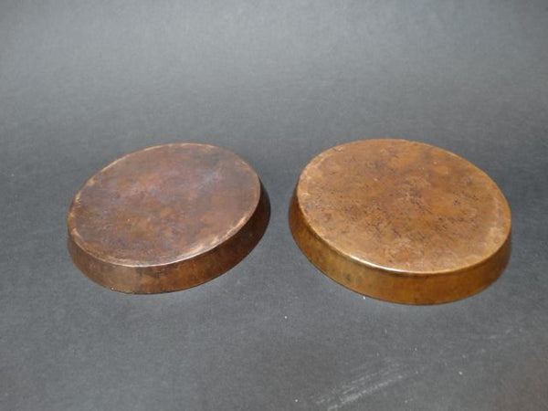 Arts and Crafts Copper Coasters
