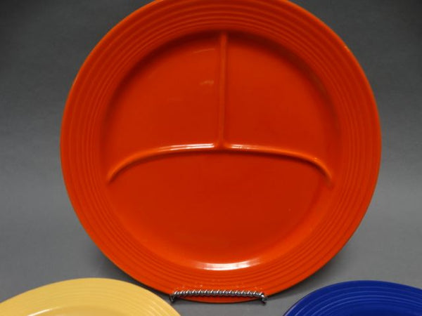 Fiesta Set of 3 Divided Plates