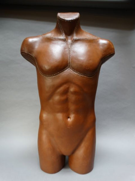 Leather Mannequin Torso