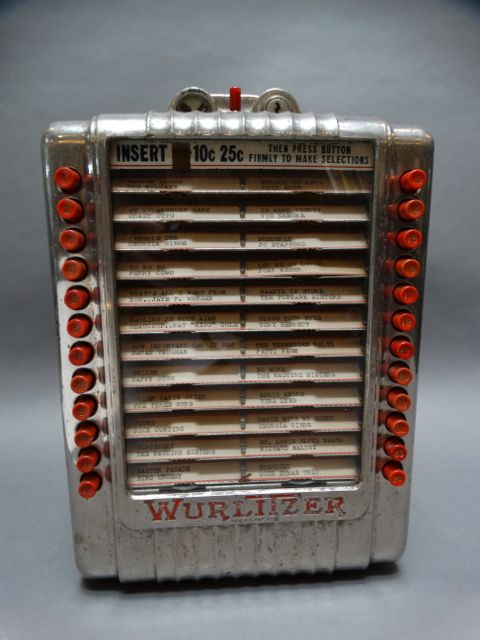 Wurlitzer Diner Tabletop Jukebox