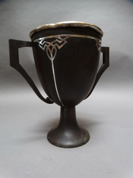 Heintz Sterling on Bronze Trophy c. 1918