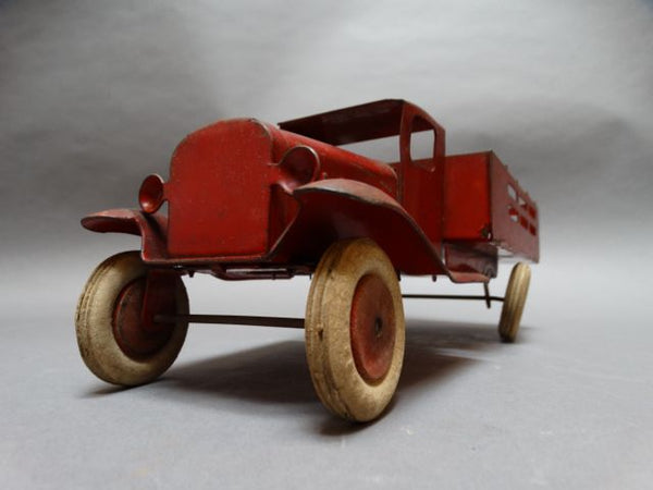 Red Toy Truck Wyandotte Toys