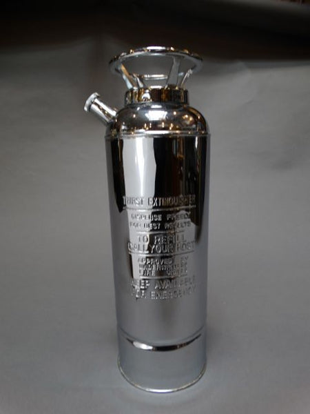 "Novelty ""Fire Extinguisher"" Music Box Cocktail Shaker"