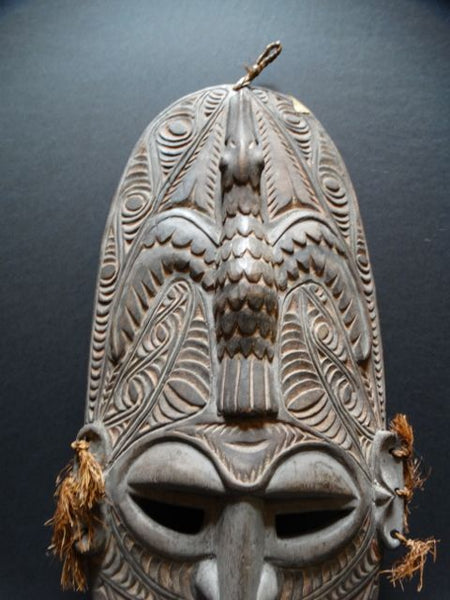 New Guinea Carved Mask Pre-WWII