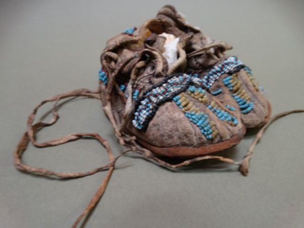 American Indian Infant's Mocassins