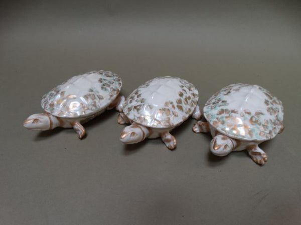 French Porcelain Turtle Dishes