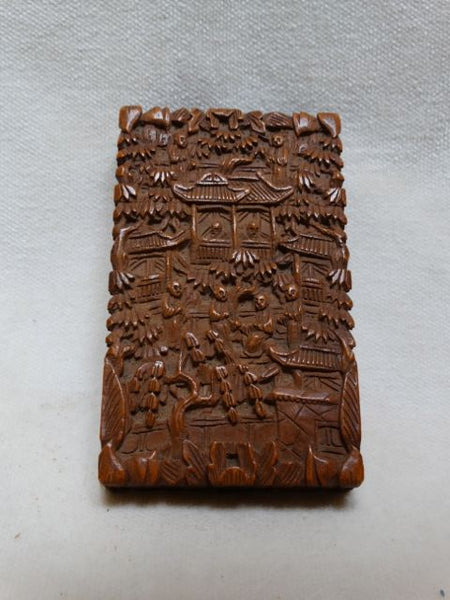 Chinese Carved Card Case