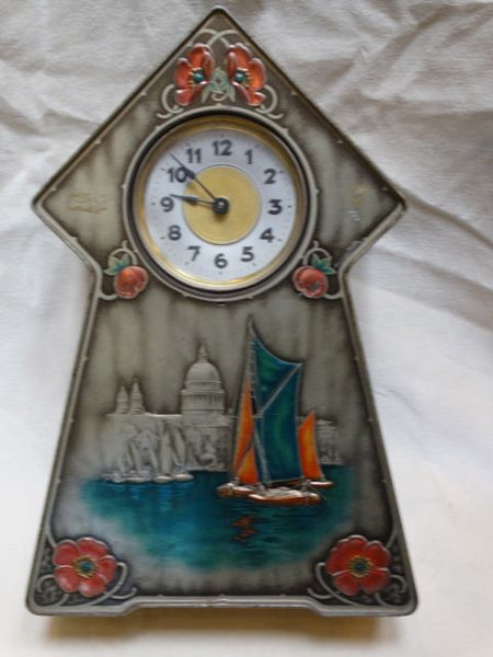 Victory-V Lozenges Art Nouveau Store Display Clock