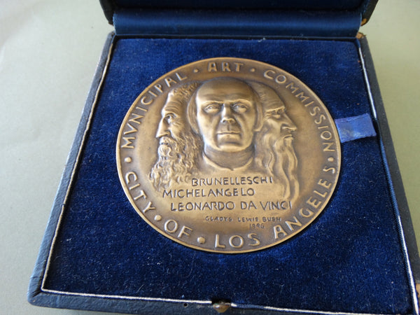 L.A. City Municipal Art Commission Medal: Ejnar Hansen