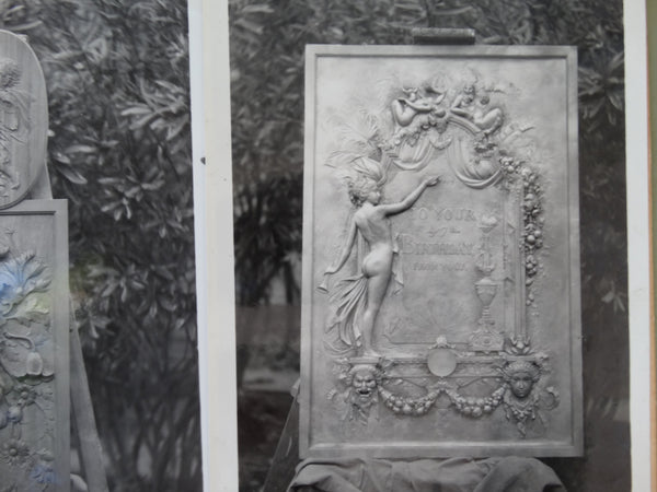 Frederico Giorgi Photos of Sculpted Plaques