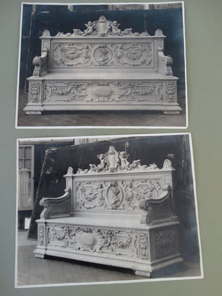 Frederico Giorgi: 2 Photos of Benches