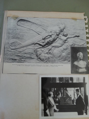 Frederico Giorgi: Helen Keller Historical items related Lindbergh Flight.