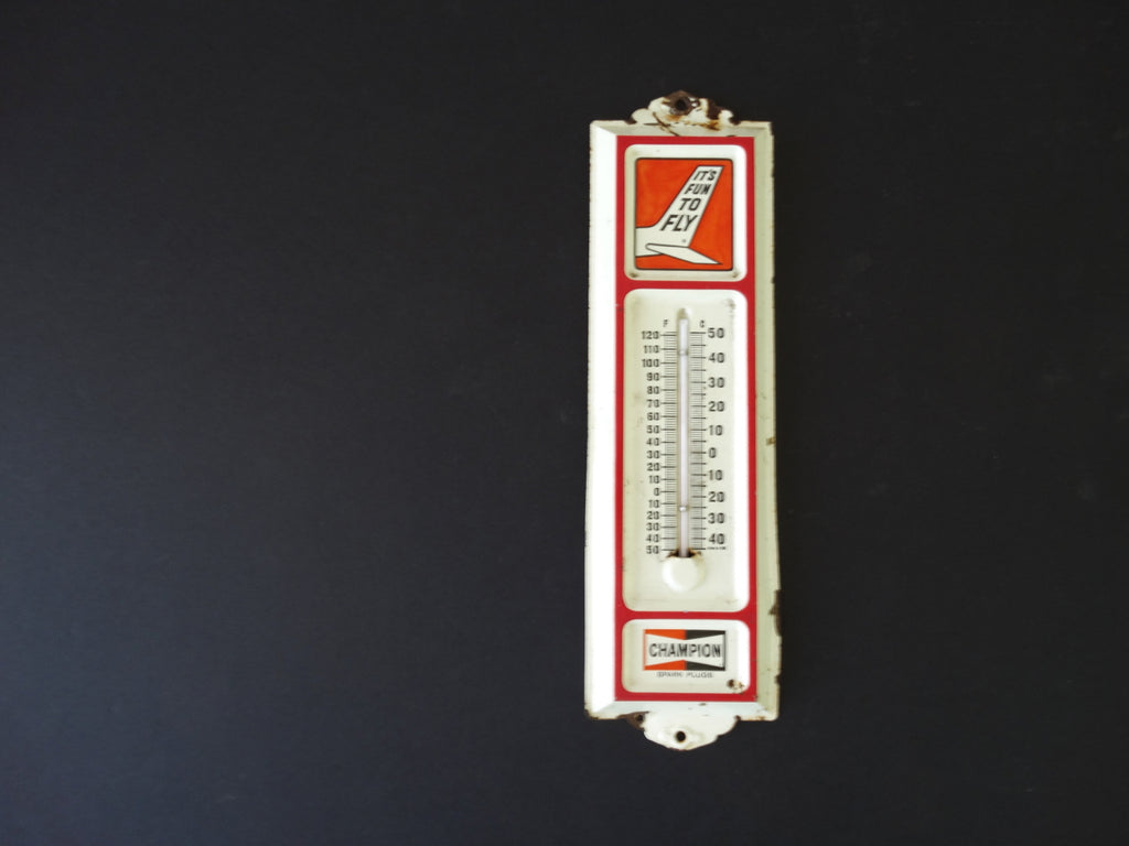 Champion Spark Plugs Aviation Thermometer