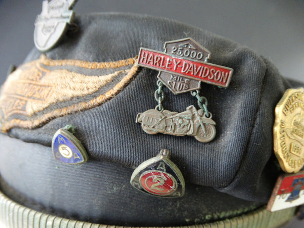 Harley Davidson Motorcycles Factory Dress Cap, circa 1948
