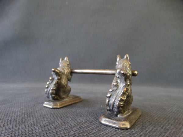 Victorian Knife Rest with Squirrels