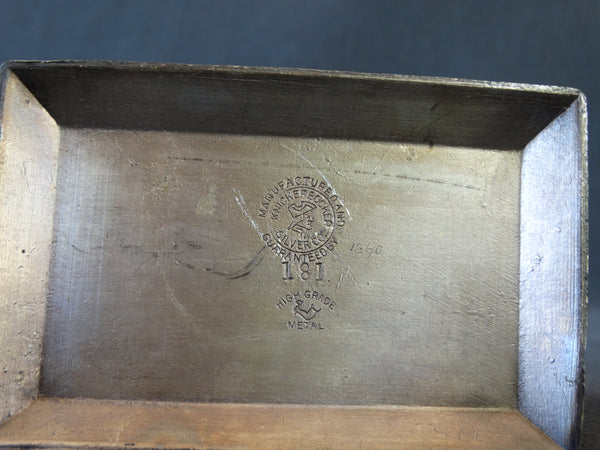 Victorian Silverplate Goat Napkin Ring