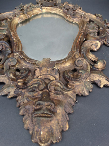 Spanish Colonial Mirror c 1882