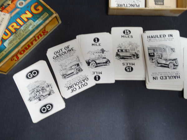 Touring Famous Automobile Card Game