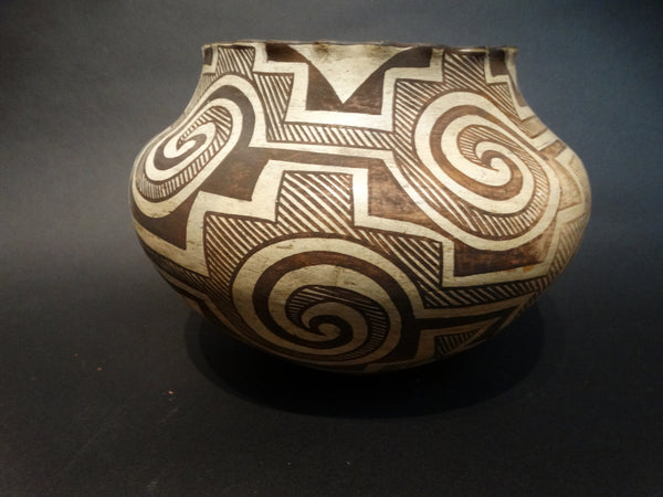 Acoma Pueblo Pot - Tularosa Circle Design