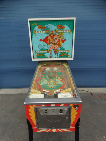 "Bally ""Ro-go"" Coin-A-Tune Corp Pinball Machine 1974"