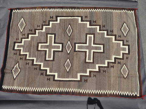 Navajo Transitional Two Grey Hills Rug