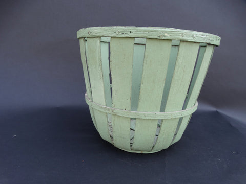 19th Century Nantucket Folk Art Fruit Basket