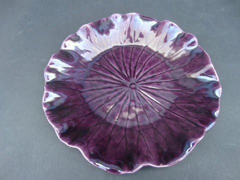 "Newell Stevens 8"" Plate in Very Violet"