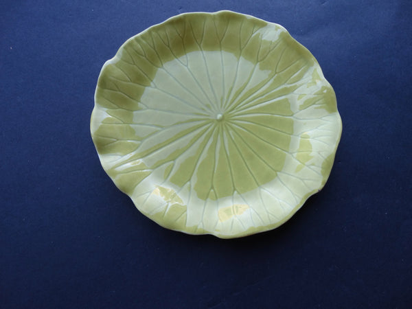 Newell Stevens Chartreuse Plates 6""