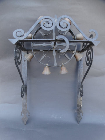 Spanish Revival Wrought Iron Door Bell