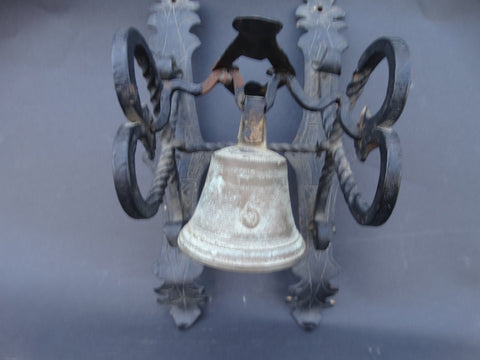 Spanish Revival Single Door Bell