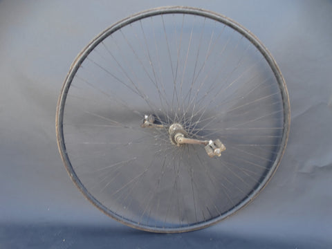 The High Wheel of a Columbia Penny-Farthing Bicycle
