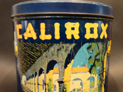 Calirox Fruit Cookies Tin designed by Sam Hyde Harris 1920s
