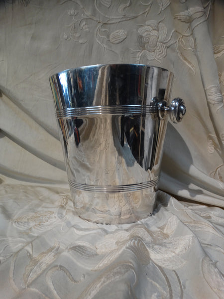 Harrods of London Silverplate Ice Bucket