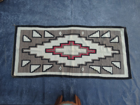 Navajo Center Medallion Rug 1920s
