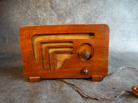 Philco Model 602 Art Deco Double Fronted Radio 1936 A2383