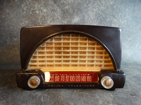 Philco Tube Radio Model 51-532  1951 A2386