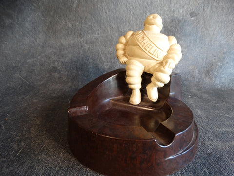 Bakelite Michelin Man Ashtray Made in England 1930s-40s A2445