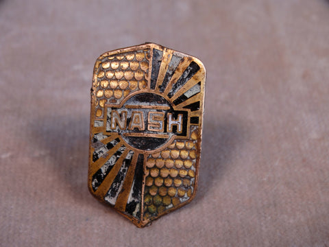 Nash 1930 Radiator Badge A2454